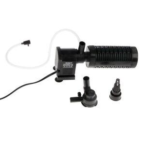 Pumps (water) Cheap Sale Pompa Filtro Interno Ipf-728 Areatore Acquari Ossigenatore 1 Uscita 10w 720l/h