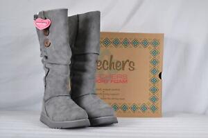 Women-039-s-Skechers-Keepsakes-Freezing-Point-Winter-Boots-Charcoal