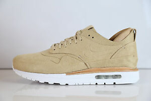 Details about Nike Air Max 1 Royal Linen Summit White 847671 221