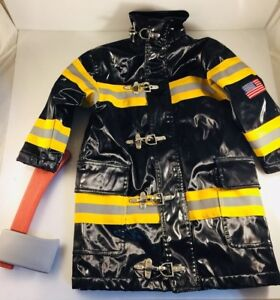 Timber-Clothing-Co-Firefighter-Jacket-Halloween-Costume-Dress-Up-Lined-S-4-ax