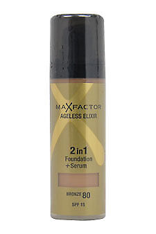 max factor ageless elixir 2 in 1 foundation bronze