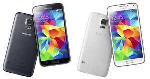 Samsung Galaxy S5 in Black or White Unlocked 16gb G900P