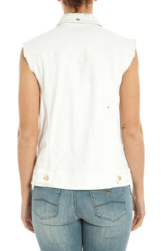 1 Vest Italie Sweat En Hommes Coton Aj A5q041b Fabriqué Jeans Blanc Armani 76qPW