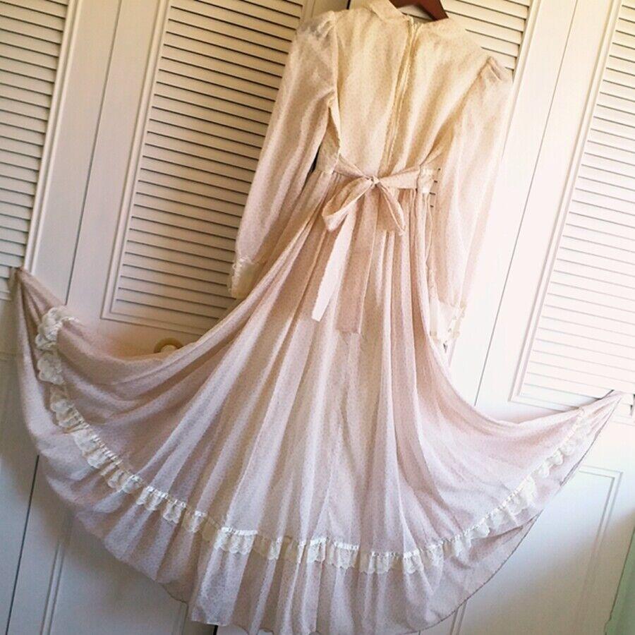 ASIS RARE vintage GUNNE SAX floral  Prairie dress… - image 4