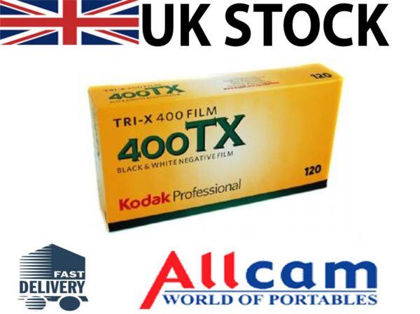 Bien éDuqué Lot De 5: Kodak Tri-x 400 Tx 120 Taille Iso400 Black & White Print Film