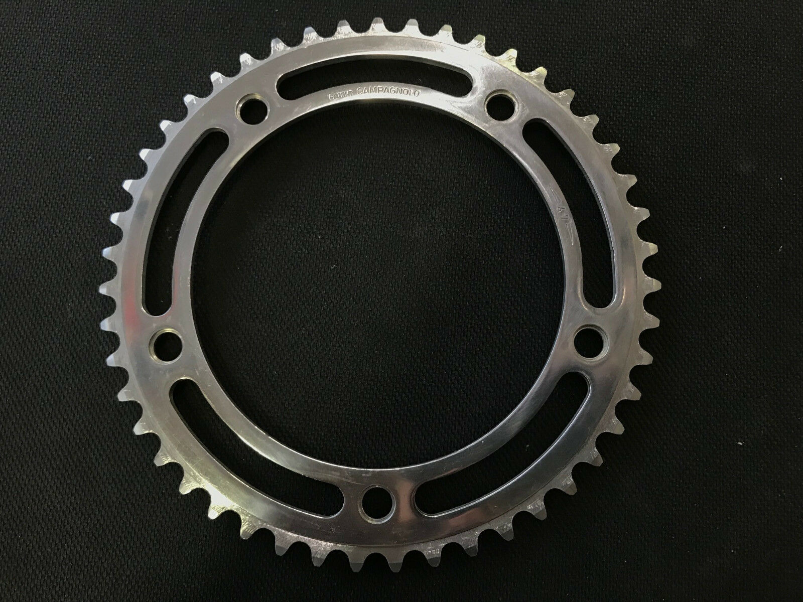 Campagnolo Record Pista Chainring 47t 151BCD  1 8  Vintage Fixed Gear  a lot of surprises