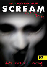 Scream: The TV Series - Season One 1 1st (DVD, 2016, 3-Disc Set) NEW