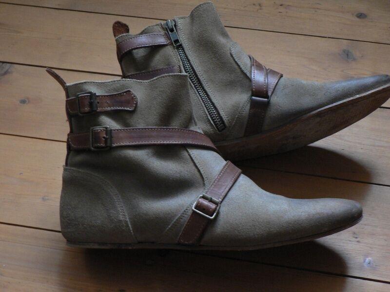 Stiefel H by Hudson Chelsea Stiefel Freya 100 % Leder Vintage 39