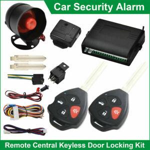 Voiture-Securite-Alarme-Systeme-Eloigne-Central-Verrouillage-Choc-Capteur