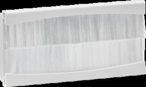 Knightsbridge Brush Module 100 x 50mm White Modular Plate