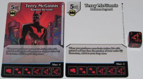 TERRY MCGINNIS BATMAN BEYOND DC Dice Masters OP Promo LE FULL ART, SKETCH