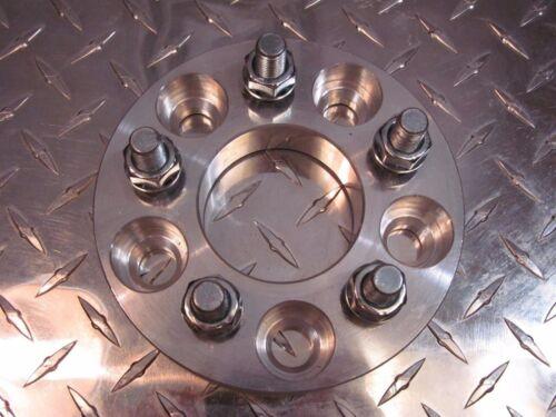 5x4.5 5x114.3 to 5x100 US Wheel Adapters 20mm Thin 12x1.25 Stud 56.1mm Bore x2