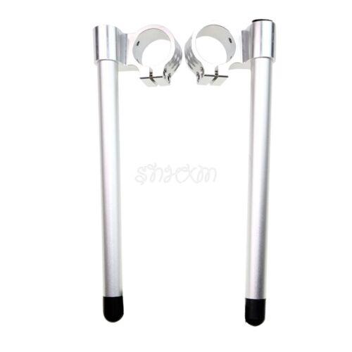50MM Riser Clip On Handlebars Fit For Honda CBR1000RR 2004-2016 RC51 2004-2009