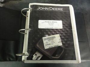 john deere 8450 and 8650 tractors technical manual tm1355 ebay rh ebay com john deere 850 manual free John Deere 8440