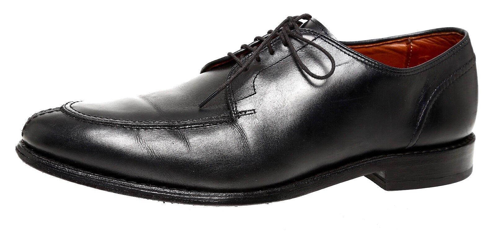 Allen Edmonds Lasalle Leather Oxfords Black Men Sz 9.5 D 4054