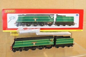 Hornby R2691 Dcc Homologué Br 4 6 2 Ouest Pays Classe Locomotive 34031