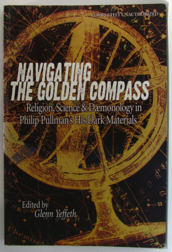 1 of 1 - #BA14, Glenn Yeffeth NAVIGATING THE GOLDEN COMPASS S/cover Postage Fast & FRE...