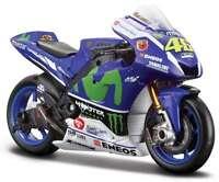 Maisto 31590 Yamaha Yzr M1 Model Motorbike Valentino Rossi Motogp 2016 1:18th