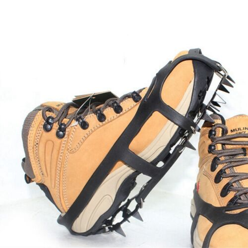 Ice Snow Anti Slip Spikes Grips Grippers Crampon Cleats For Shoes Boots 1 Pair
