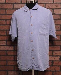 Tommy-Bahama-Men-039-s-Hawaiian-Silk-Shirt-Size-Large