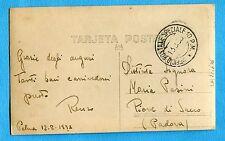 1938 UFFICIO POSTALE SPECIALE 10 P.M. del 13.08.38 su cart.di MALLORCA (221676)