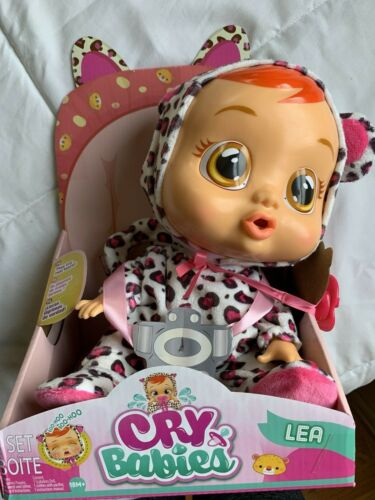 CRY BABIES LEA DOLL IMC Toys Leopard Color