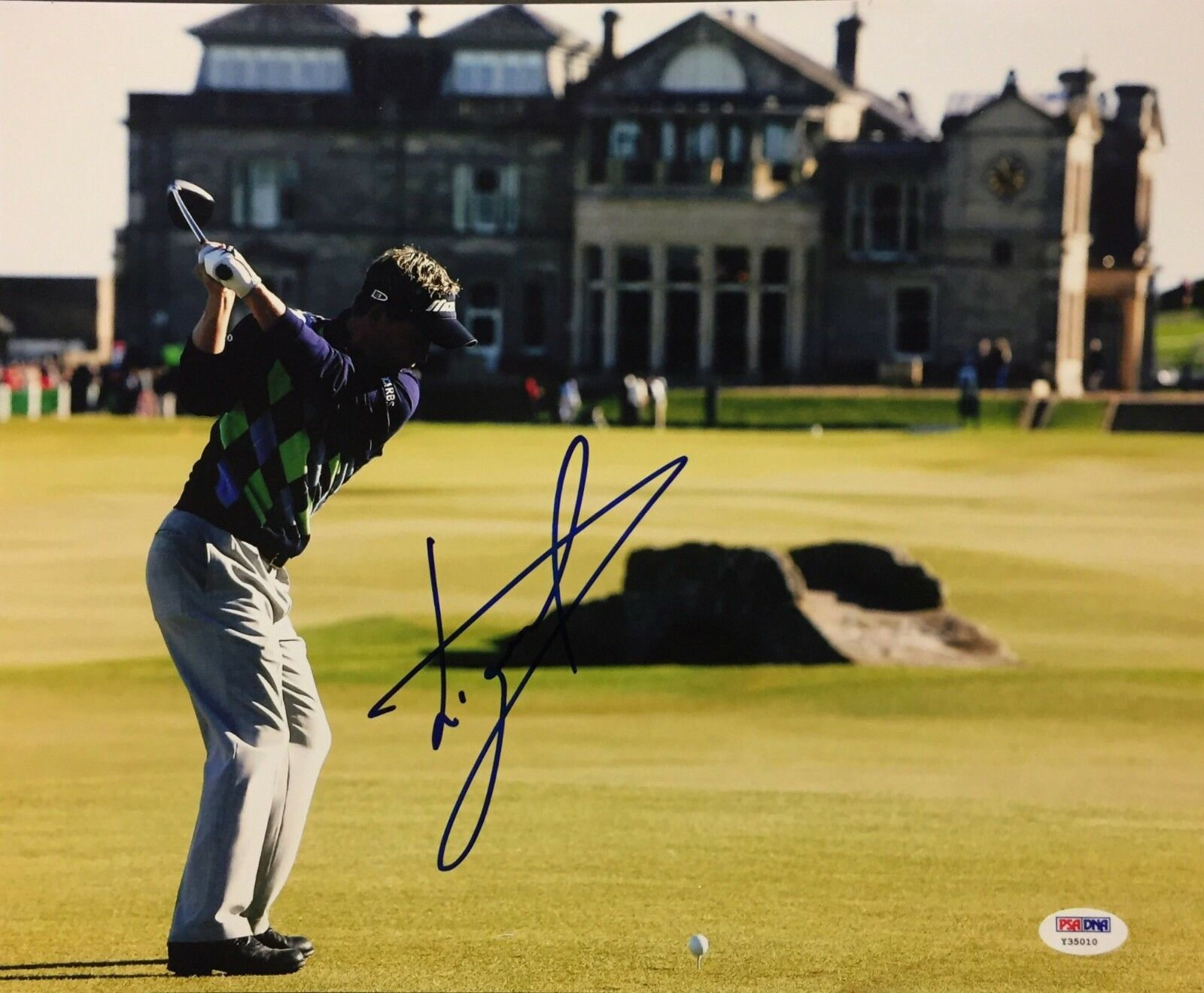 Luke Donald Signed 11x14 Photo *Golf PSA Y35010