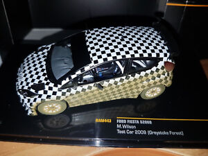 Ford-Fiesta-S2000-Test-Car-2009-M-Wilson-Scala-1-43-Die-Cast-IXO-Nuova