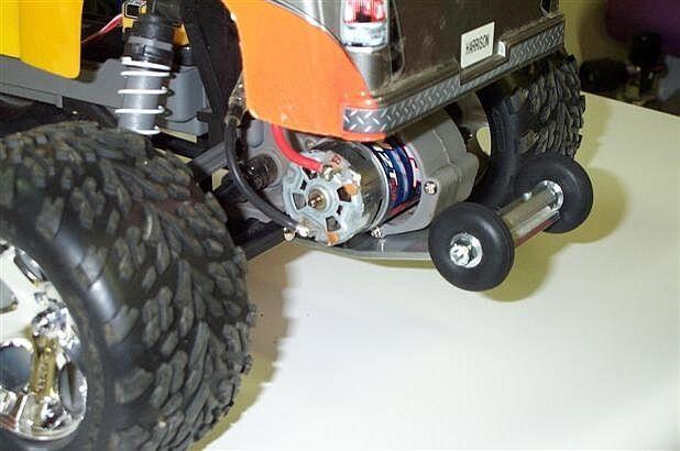 Banzaibars Wheelie Bar - Fits Traxxas Rustler VXL Electric Stadium Truck