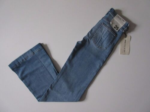 NWT Rag /& Bone //Jean Justine Wide Leg in Arsenal Stretch Trouser Jeans 25 x 33