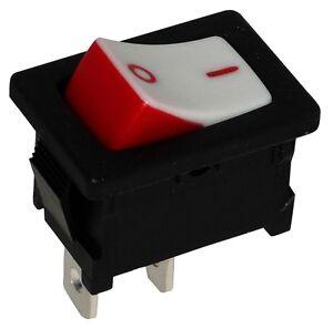 Interrupteur Commutateur Contacteur Bouton à Bascule Blanc Spst On-off 10a/250v Amizof7a-07175011-581288230