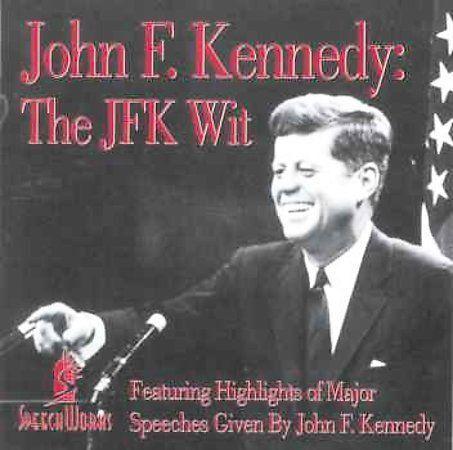 The Jfk Wit By John F Kennedy President Cd Apr 1999 Jerden
