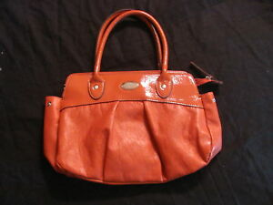 Image Is Loading Women 039 S Mondani New York Orange Patent