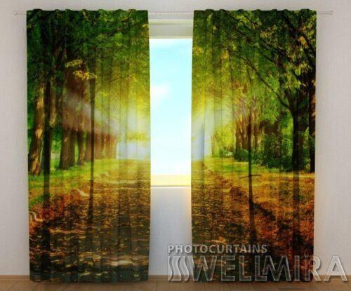 Curtain Park Wellmira Custom Made 3D Printed Drape Nature