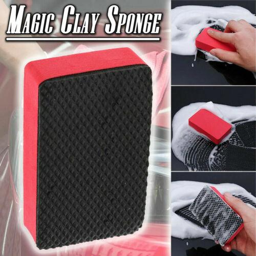 Car Magic Clay Bar Pad Sponge Block Cleaning Eraser Wax Polish Pad Tool 1X