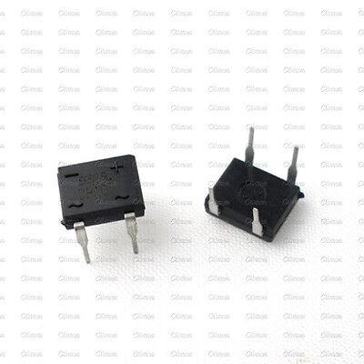 50PCS DB107 DB107G 1A 1000V Single Phases Diode Rectifier Bridge DIP-4