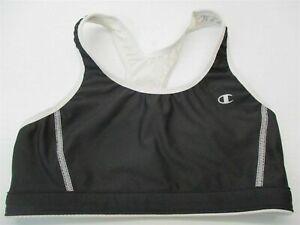 CHAMPION-Women-039-s-Size-S-Yoga-Workout-Black-White-Reversible-Sports-Bra