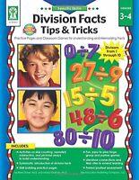Specific Skills: Division Facts Tips & Tricks, Grades 3 - 4