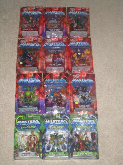He-uomo  Masters of the Universe Lot of 12 cifras (2002) Series  offrendo il 100%