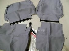 GENUINE TOYOTA LC70 70 SERIES LANDCRUISER 3 4 BENCH FRONT CANVAS SEAT COVERS