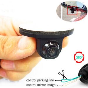 360-Mini-HD-Night-Vision-Car-Camera-Rear-Front-Side-Waterproof-Optional-Dash-Cam