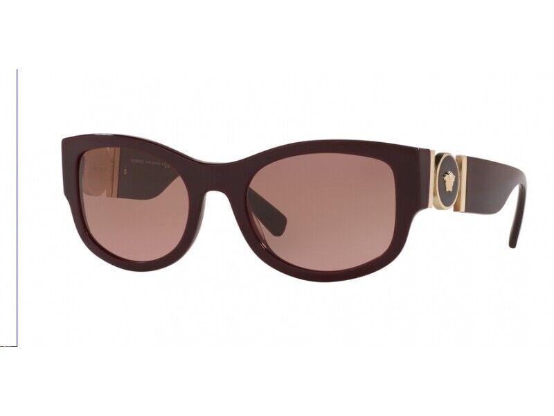 Versace Sunglasses VE4372 with. 512314 BURGUNDY Bordeaux purple Woman
