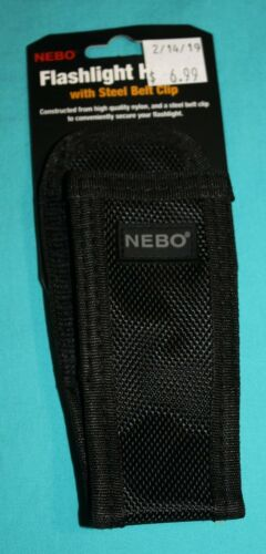 with steel belt clip NEBO Flashlight Holster Free Shipping 6274
