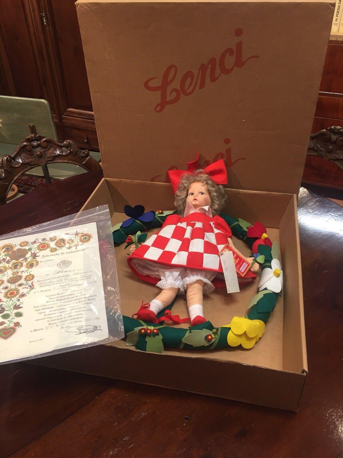 Bambola Panno Lenci  Anno 1997  all'ingrosso a buon mercato
