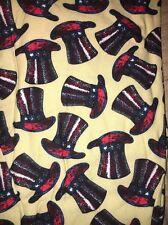 LuLaRoe TC Top Hat Patriotic Black Beige Leggings Unicorn Disney Mad Hatter