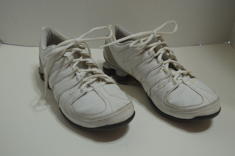 nike shox femmes 313764-102 baskets blanche vintage de baskets 313764-102 taille 7,5 3ea229