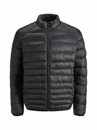 Jack And Jones Mens New Arrival Bomb Puffer Collar Quilted Jacket