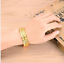 Hot-Fashion-24K-Yellow-Gold-Plated-Men-039-s-Gorgeous-Jewelry-Bangle-Bracelet-Hot thumbnail 2