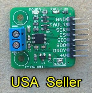 MAX31856-thermocouple-breakout-board-for-5V-systems-MAX31855-upgrade