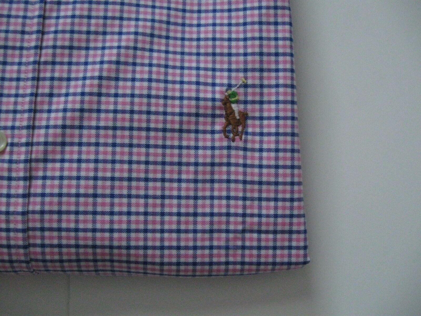 Da Uomo Polo Ralph Lauren Denim Camicia Taglia Taglia Camicia Media 1ab63a